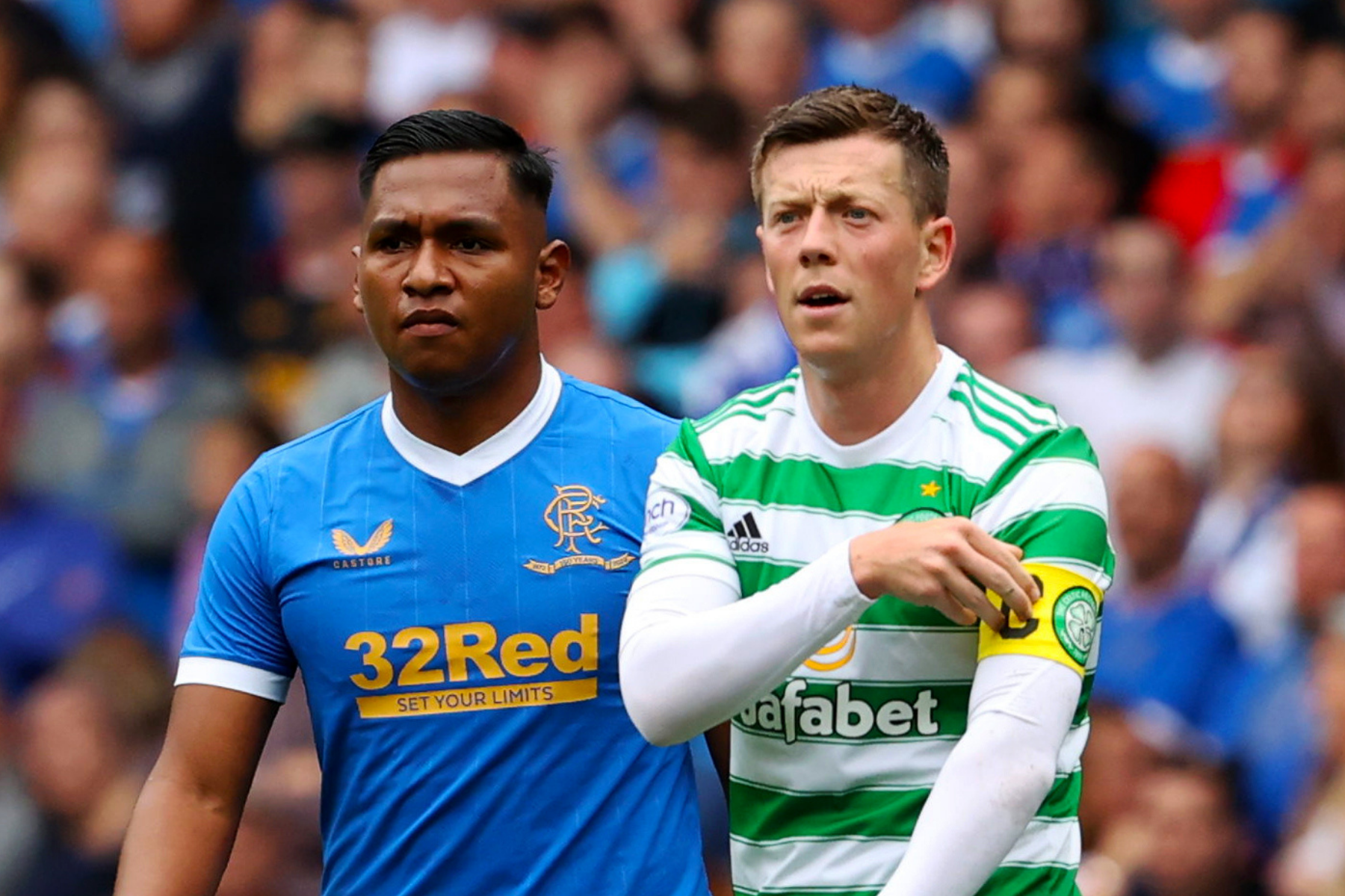 Rangers and Celtic FIFA 22  ratings revealed with three Gers stars ranked Premiership's best